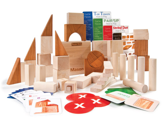 Wooden blocks Larsen Toy Lab | Cool Mom Picks