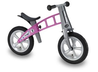 A big-kid bike for the toddler who's done with the tricycle