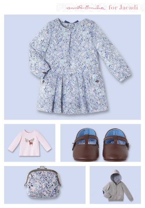 Classic children's illustrations meet gorgeous clothes for little girls: The new Anna Emilia Collection for Jacadi