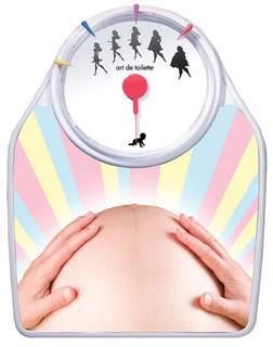 Pregnancy weigh-in time! Hooray! Hooray!