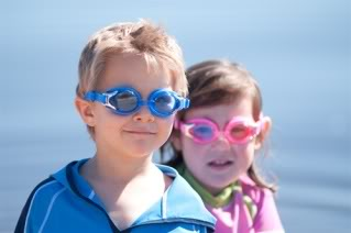 Baby Banz Swim Goggles: Essential eye protection goes underwater