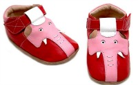 Possibly the world's cutest baby shoes ever. If you like elephants.