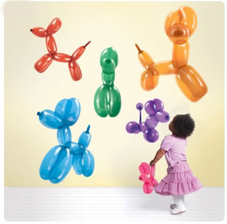 Trend alert: Balloon dogs!