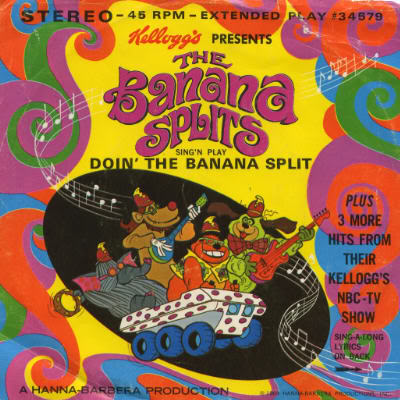 One banana, two banana, three banana, four…