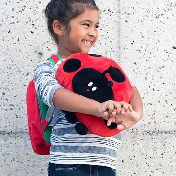 Fighting childhood cancer with the strength of 1000 ladybugs