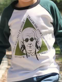 Rock on, Ben Franklin!