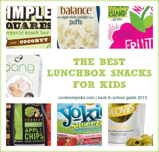 Best Lunchbox Snacks: Back to School Guide 2013