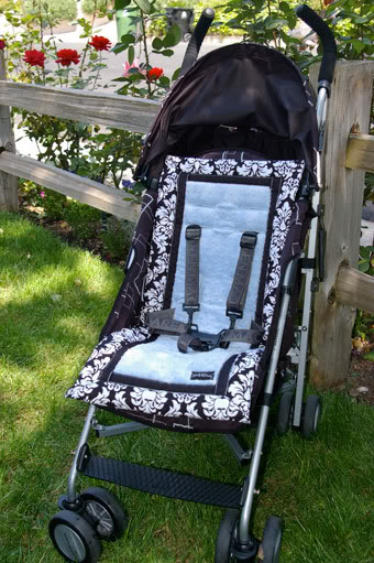Stroller liners – totally frivolous and completely necessary