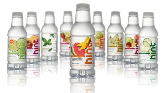 Hint Water – Totally Indulgent and Yet Totally Calorie Free. Figure That One Out.