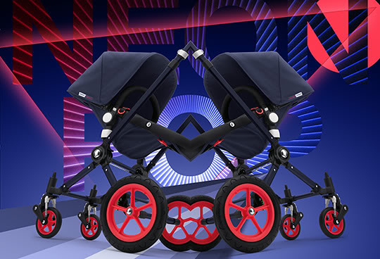 Bugaboo goes neon – cue the opening to Karma Chameleon. Or Cameleon?