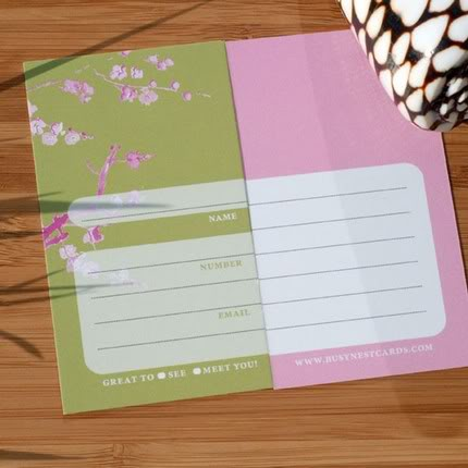 Fill-in-the-Blank Calling Cards: Sooooooo Smart