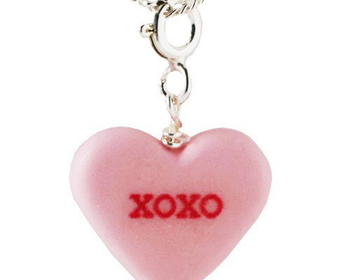 Candy Heart Necklace at Shana Logic | Cool Mom PIcks