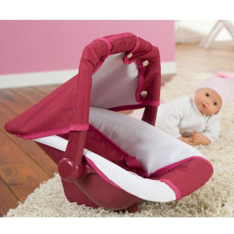 A car seat for dolls: Safety gets more fun