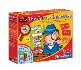 The Clever Detective sneaks some math into gametime