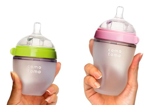 Baby bottles that come close to the real thing. Or so we can hope.