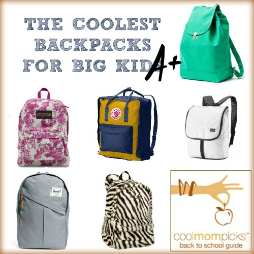 Cool backpacks for big kids: Back to School Guide 2013