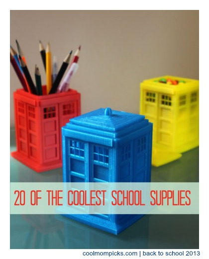 Cool school supplies: Back to School Guide 2013