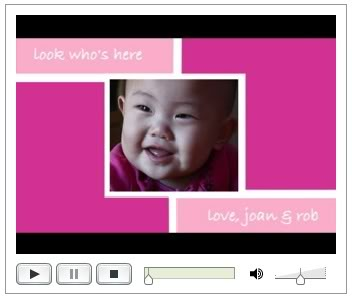 Video Birth Announcements: It's a New World, Isn't It