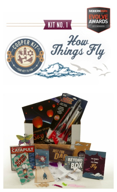 """Cooper and Kid: an """"awesome box"""" just for dads."""