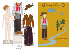 Paper dolls so pretty you might play with them yourself