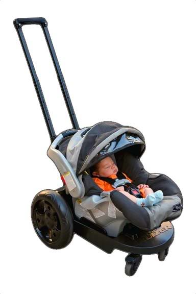 Who needs a stroller when you've got a Cruizer?