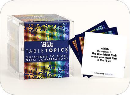 Table Topics cards: Road trip essentials