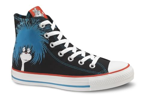Dr. Seuss chuck taylors – We do like them Sam I am