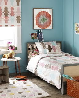Dwell bedding provides some sweet girly dreams
