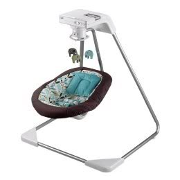 Big brands doing cool things – The Fisher Price and DwellStudio baby swing