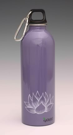 Random acts of stainless steel bottle beauty from Earthlust