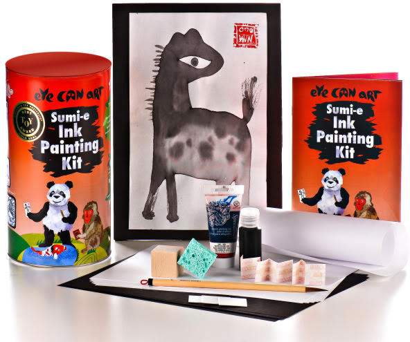 Crafty gifts for kids with an artist's eye
