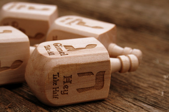 Engraved Dreidel - Cool Mom Picks