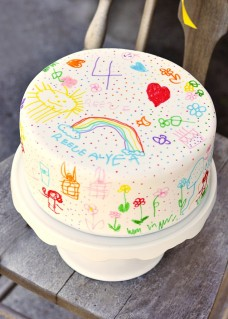 Color your own cake-venture!