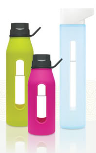 The pretty water bottle just for grownups