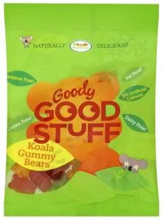 Natural gummy bears are yummy bears.