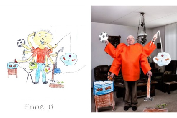 Grey Power: Photos of grandparents from kids' drawings | Cool Mom Picks