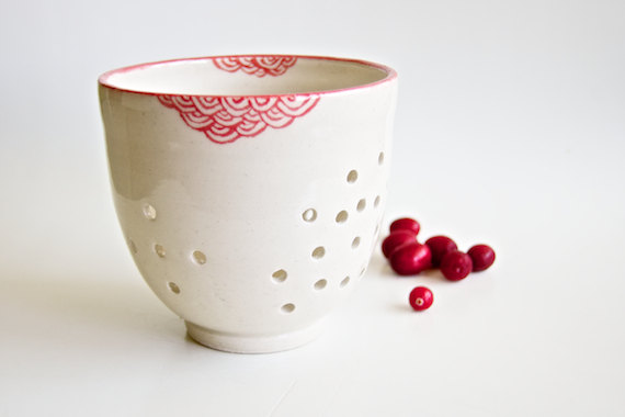 Life is a colander of cherries