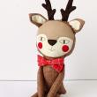 holiday gift: handmade reindeer doll