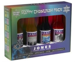 Jones Soda makes bubbly for your bubeleh