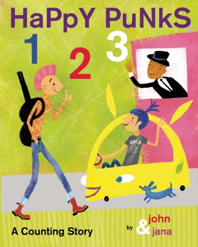 A fun numbers book for your happy little punks and hipsters in training