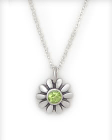 Your girl's first big-girl necklace