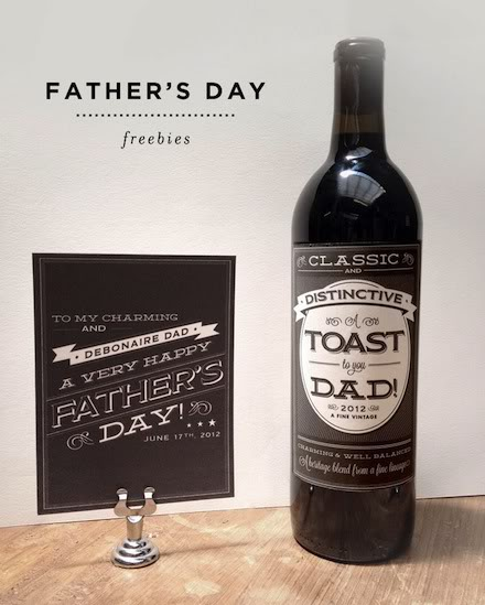 Free Father's Day printables for last minute Father's Day gifts