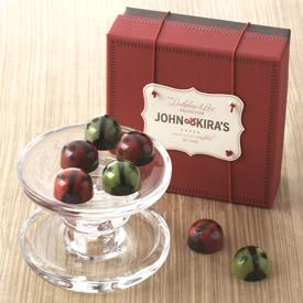 John & Kira's ladybug chocolates are ready to fly