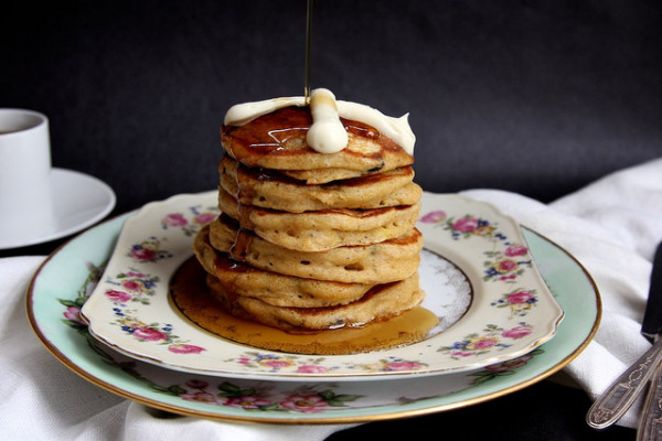 Easter Brunch ideas: Hot Cross Pancakes