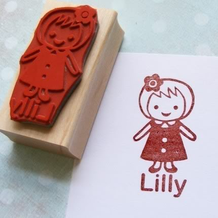 Custom rubber stamps – The stocking stuffer to end all stocking stuffers.