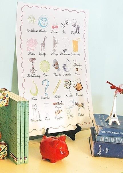 Viva la French nursery decor