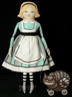 Touch Mummy's Alice doll, and I'll introduce you to the Jabberwocky