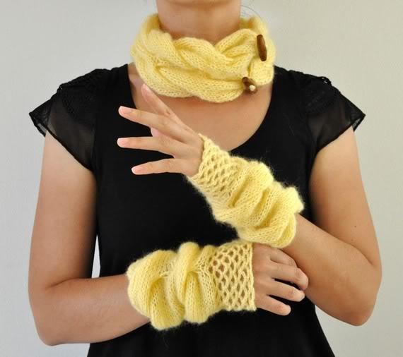 No glove…