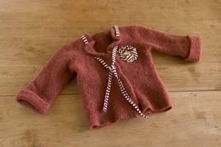 Sweaters like Grandma would make. Because a grandma did.