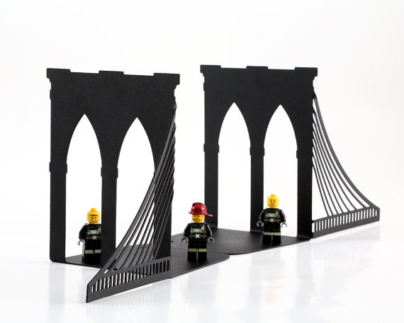 From bridges to bicycles, we've found the best collection of bookends ever